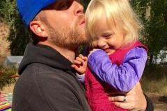 Dad & Caitlin - Crop